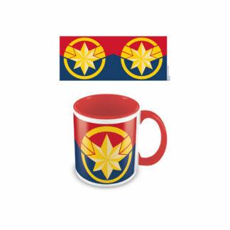 Captain Marvel embleem tas Avengers