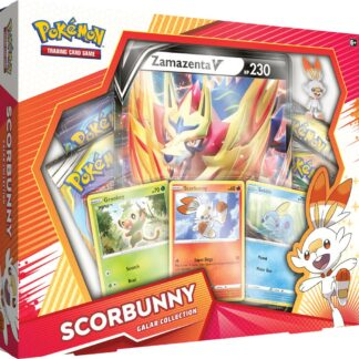 POkemon Galar Collection Scorbunny box