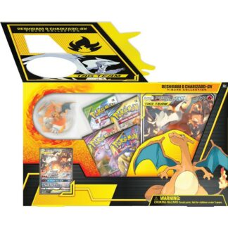 Pokemon Reshiram Charizard GX figure collection Nintendo box