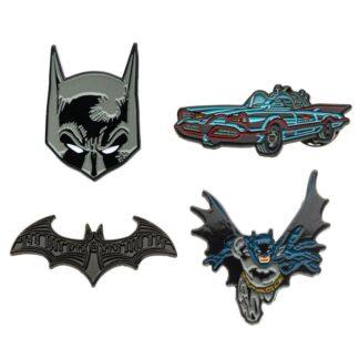 Batman DC Comics 4 pack pins