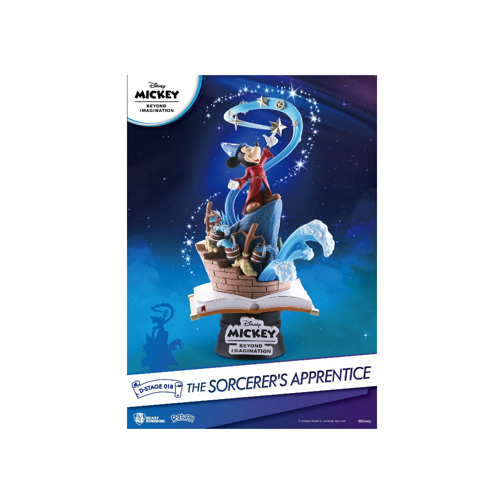 Disney - 90 Mickey Mouse Sorcerer's Apprentice Diorama