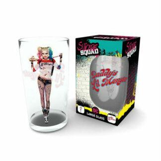 Harley Quinn pint glas DC Comics