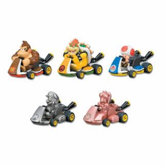 Mario Kart pullback figure Metal Mario