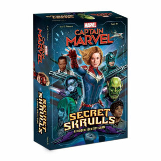 Captain Marvel Secret Skurlls kaartspel