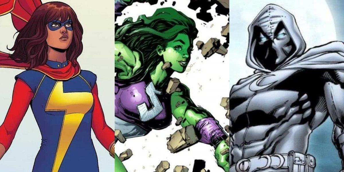 Marvel Phase 4 series Disney