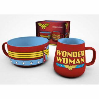 Wonder Woman ontbijtset DC Comics
