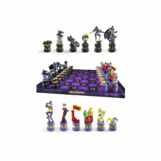 Batman chess set DC Comics Joker Harley Quinn