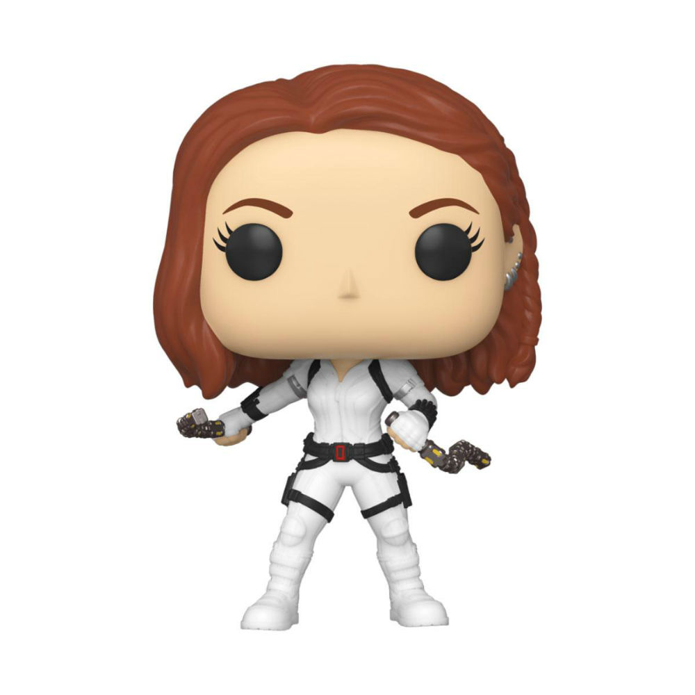 Black Widow Funko Pop white Marvel