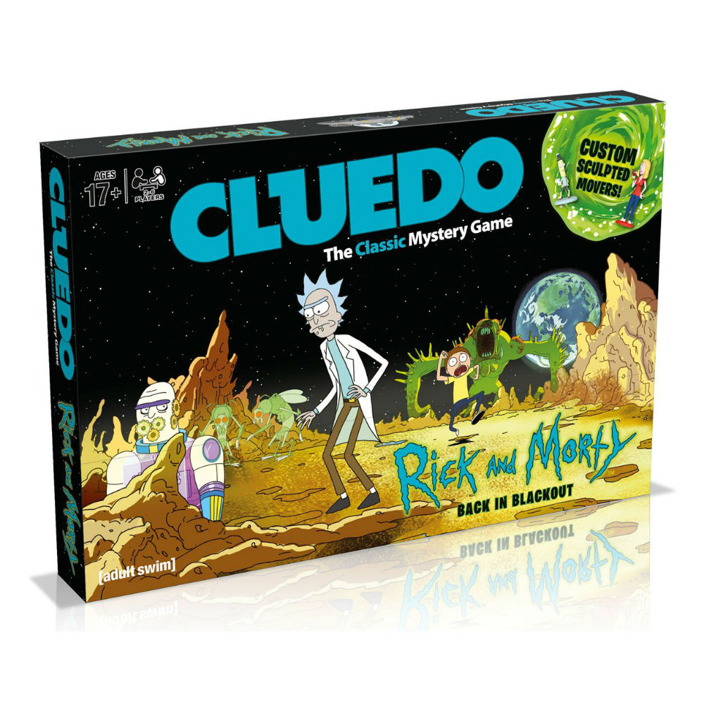 Cluedo Rick and Morty bordspel