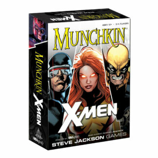 Card game Munchkin X-Men Marvel