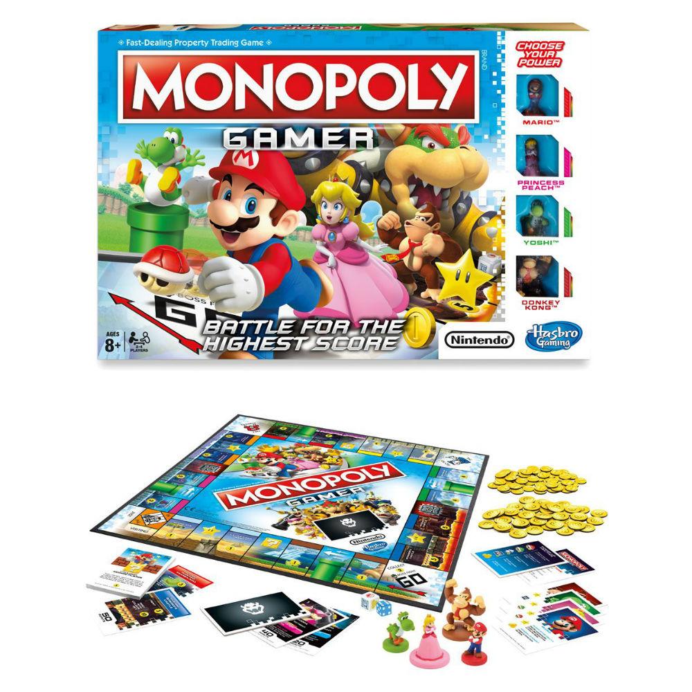 Nintendo Monopoly Mario Gamer Bordspel Nintendo