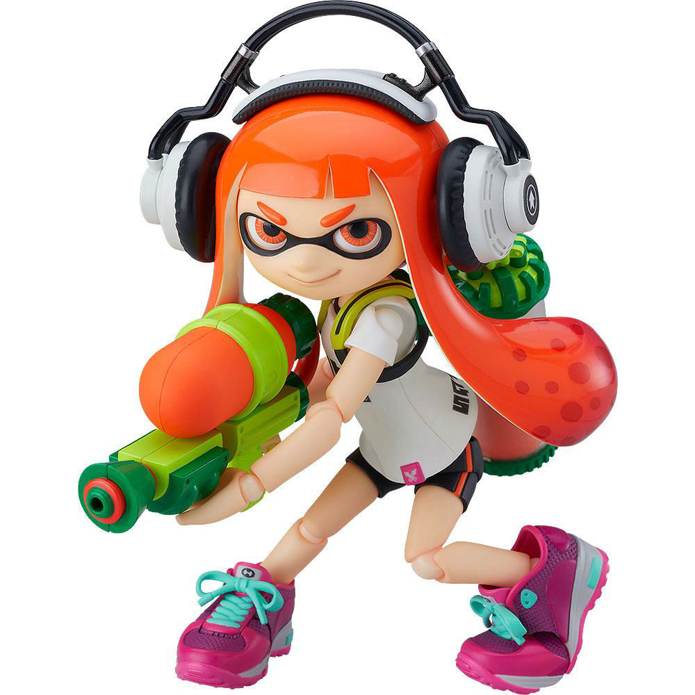 Splatoon Girl action figure The good smile company