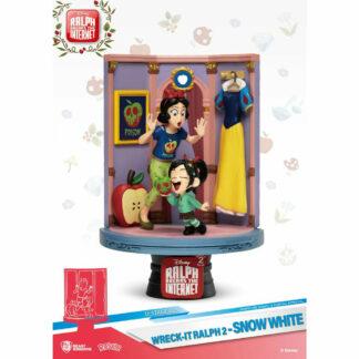Sneeuwwitje Wreck It ralph Beast Kingdom Statue diorama