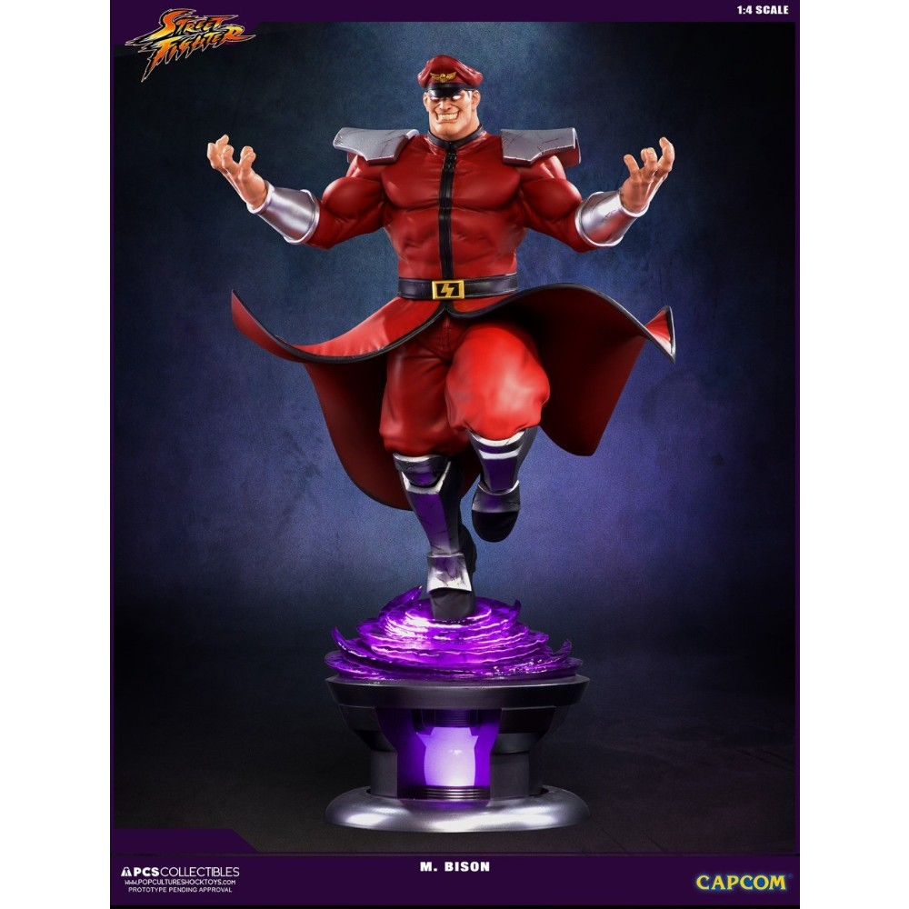 Bison PCS Collectibles statue Street Fighter