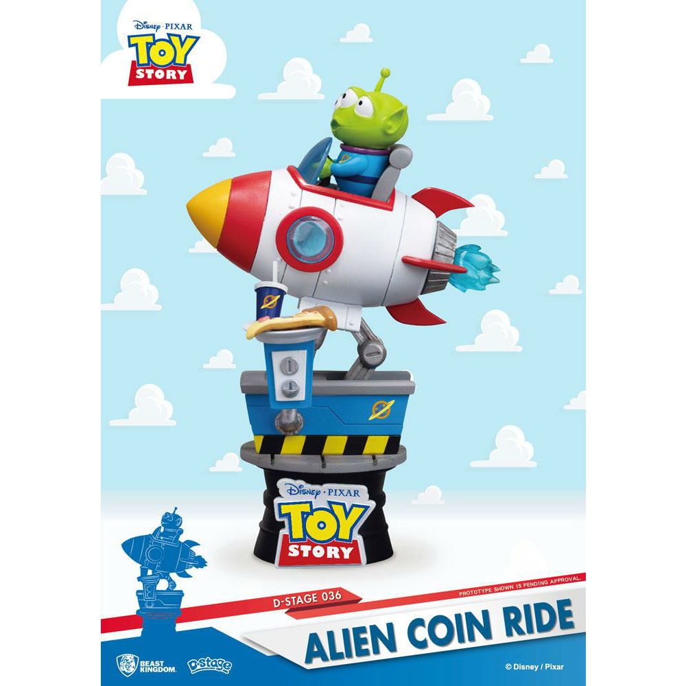 Alien D-stage PVC diorama Toy Story