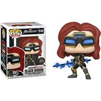 Marvel Avengers videogame Funko Pop Black Widow chase