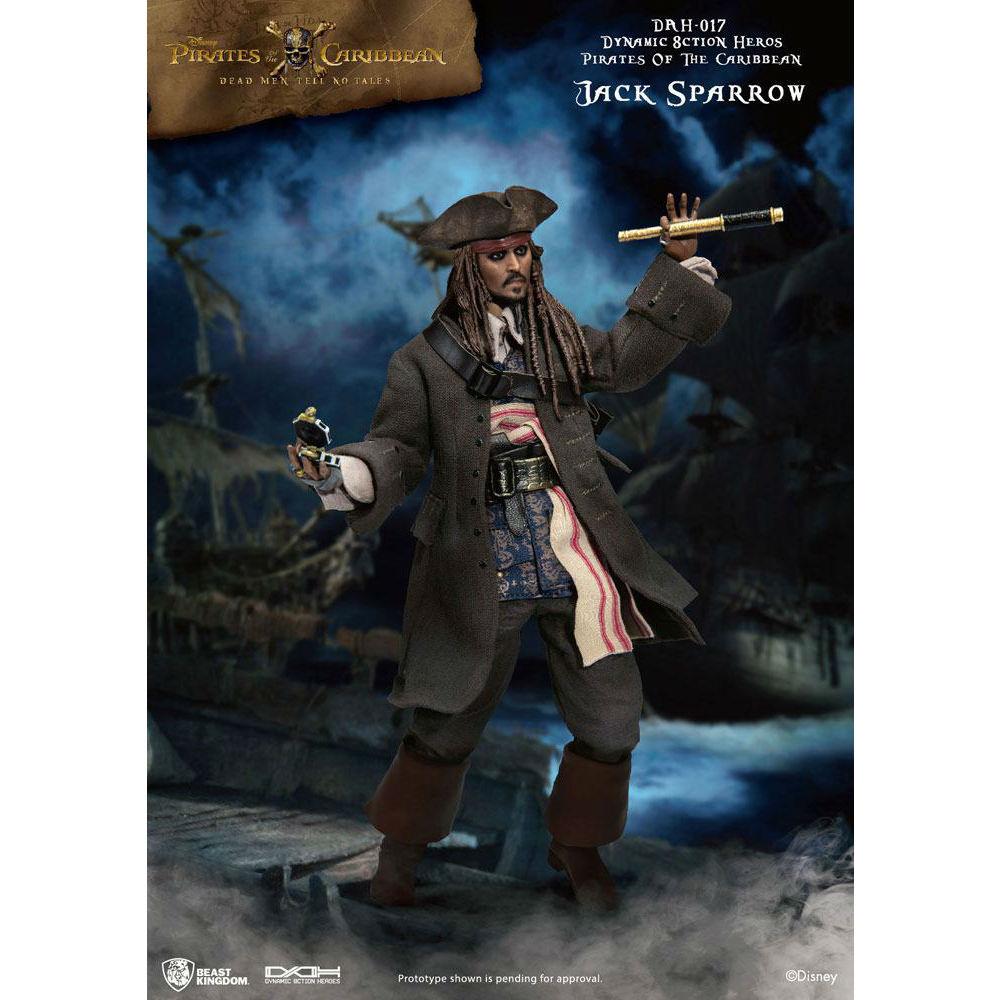 Jack Sparrow Dynamic Figure Disney Pirates of the caribbean Figure