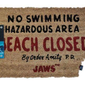 Jaws deurmat movies Beach Closed