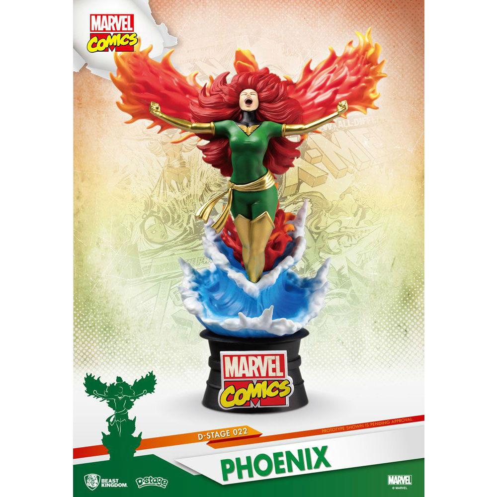 Marvel D-Stage Phoenix Beast Kingdom Marvel