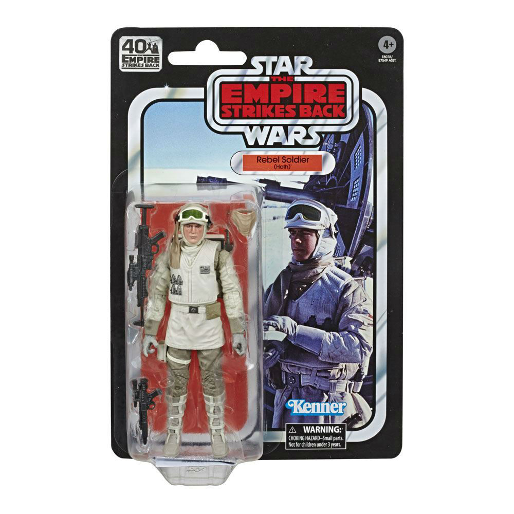 Black series action figure Hoth Rebel Soldier Movies Hasbro