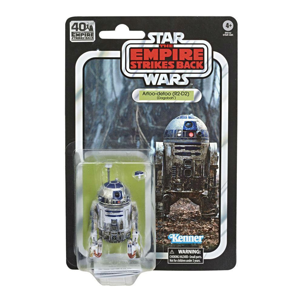 black series R2-D2 movies Hasbro Star Wars Dagobah