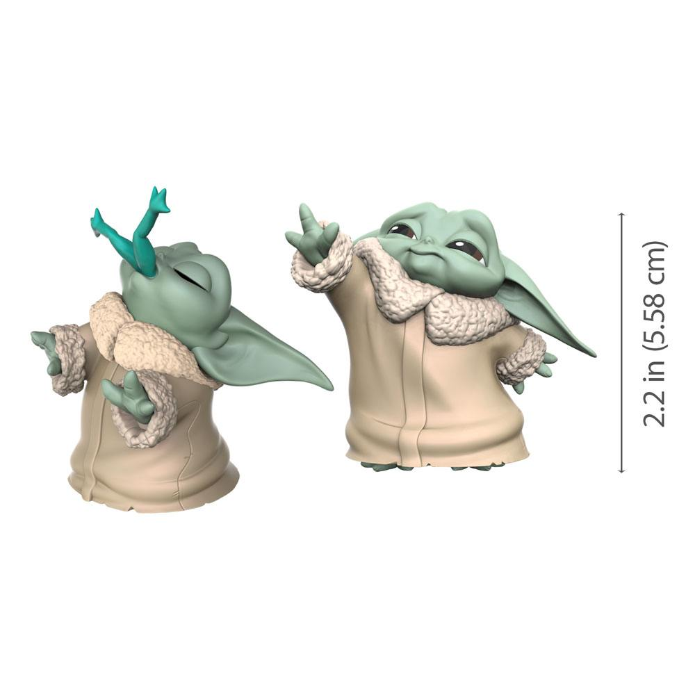 Star Wars Mandalorian Bounty Collection Figures Child Froggy Snack Force Moment Baby Yoda Star Wars