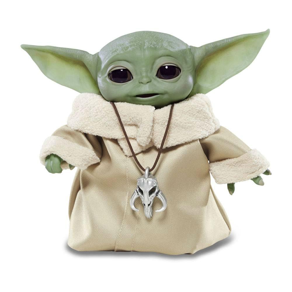 The Mandalorian Star Wars Baby Yoda series the child animatronic edition