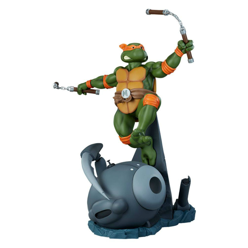 Teenage Mutant Ninja Turtles TMNT Statue Michelangelo Teenage Mutant Ninja Turtles PCS Collectibles