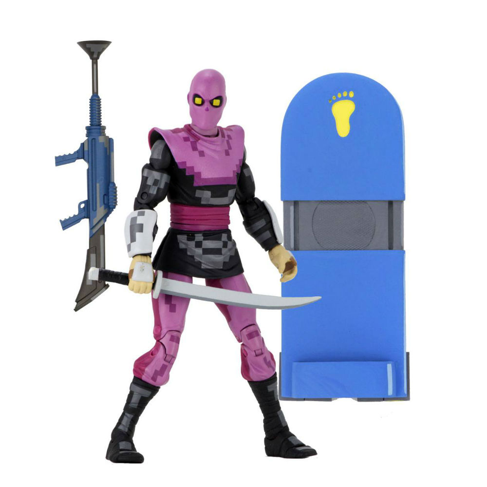 Turtles in time TMNT Foot Soldier action figres NECA