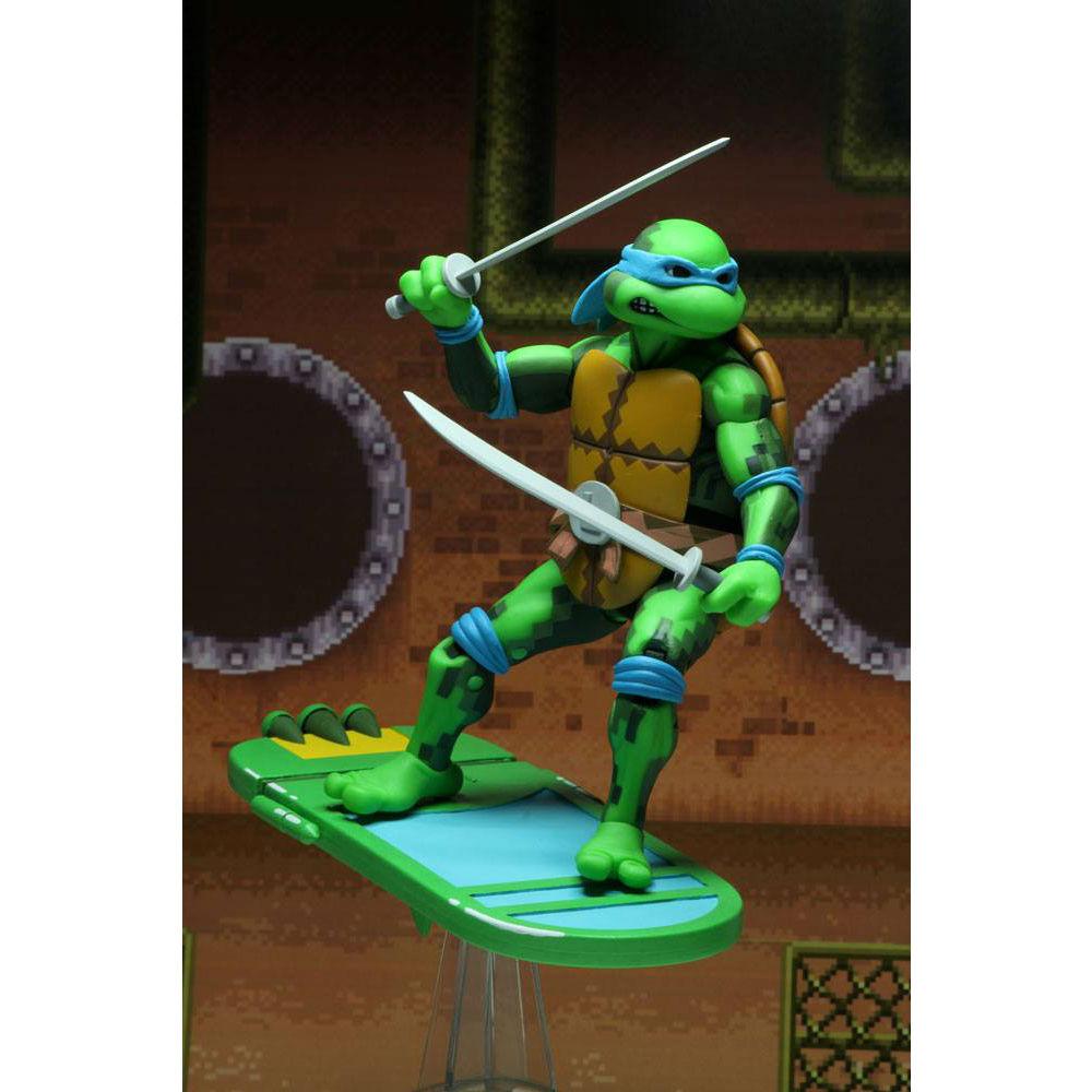 Teenage Mutant Ninja TURTLES Leonardo series 1 action figure