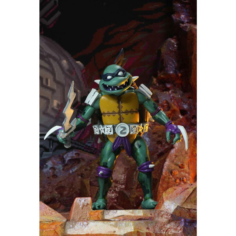 Teenage Mutant Ninja Turtles in time action figure Slash