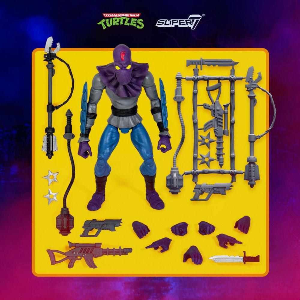 Teenage Mutant Ninja Turtles Foot Soldier Action Figure Ultra