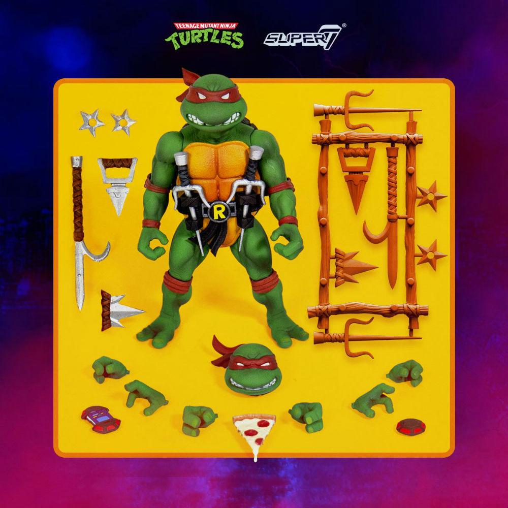 Teenage Mutant Ninja Turtles Ultimates Action Figure Raphael