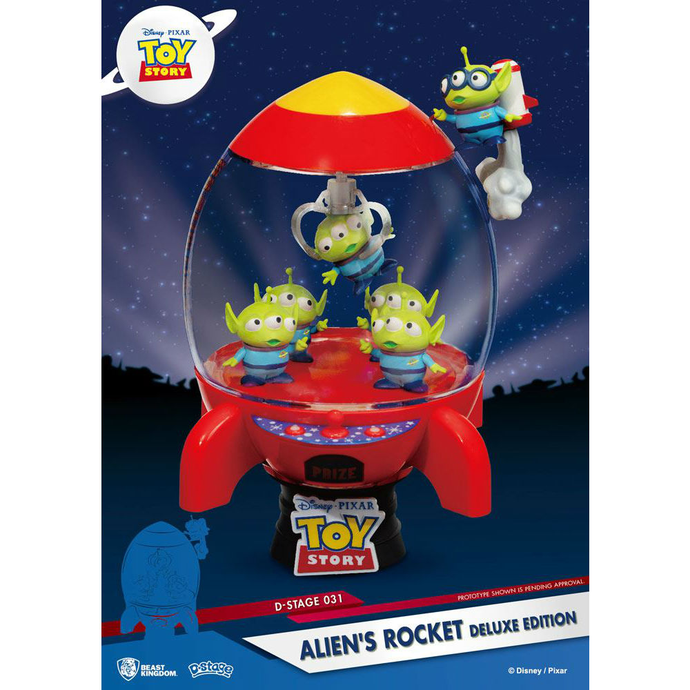 Toy Story Alien D-stage Beast Kingdom Disney