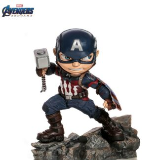 Captain America Avengers Endgame Mini Figure Iron Studios