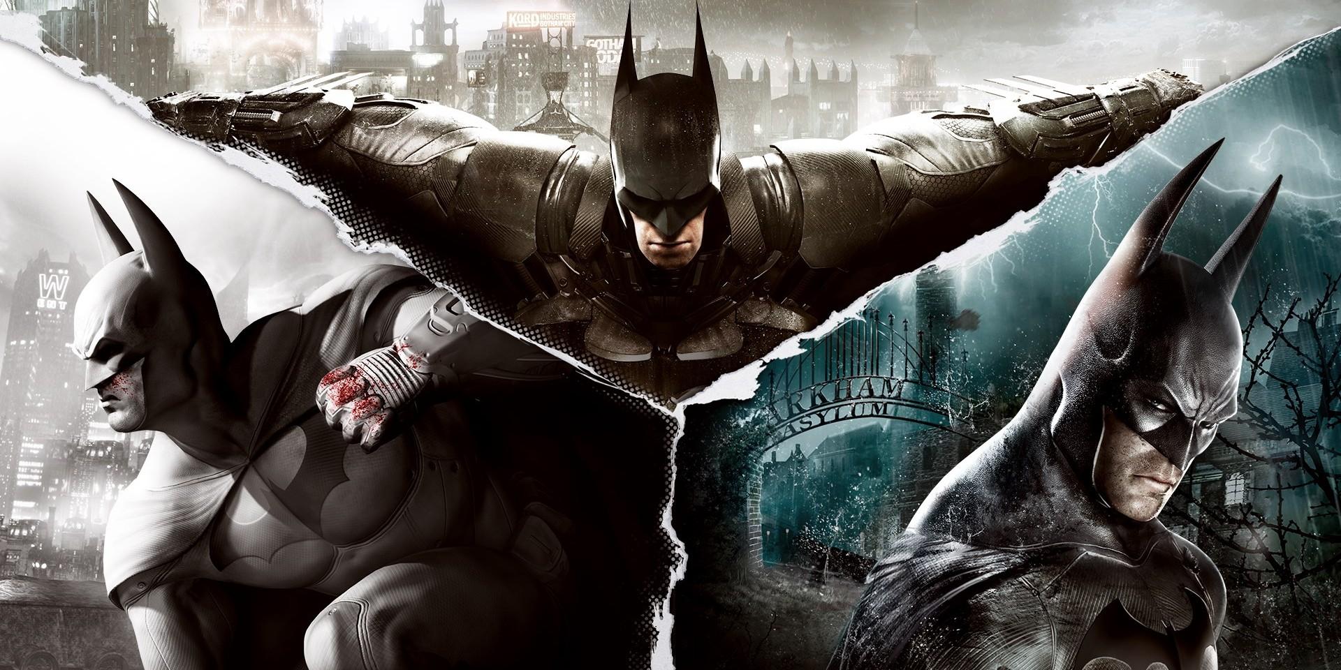 Batman Arkham Asylum City Origins Kight games Top