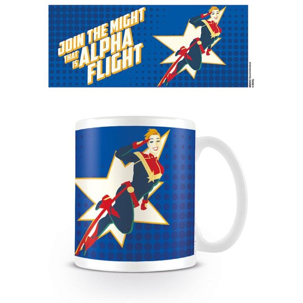 Captain Marvel Mok Alpha Flight