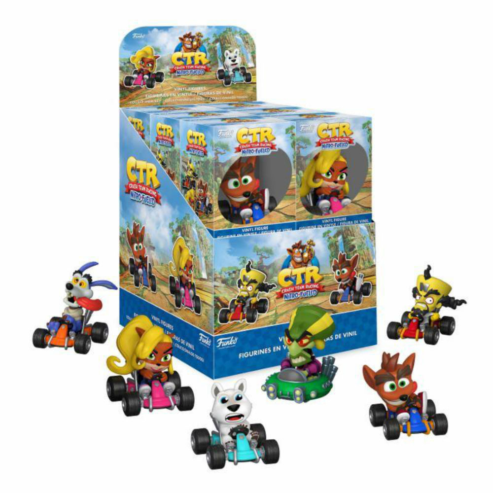 Crash Bandicoot Mini vinyl figures games