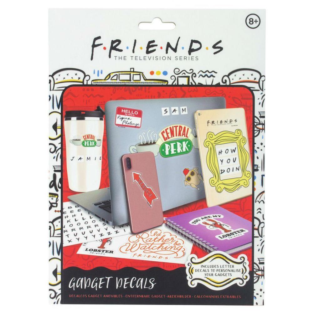 Friends gadget decals series
