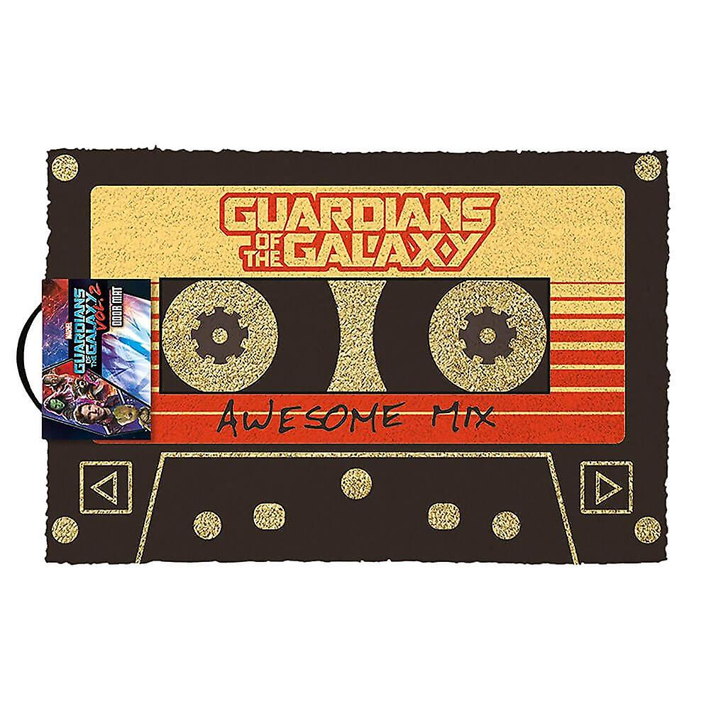 Guardians of the galaxy deurmat Marvel Awesome mix