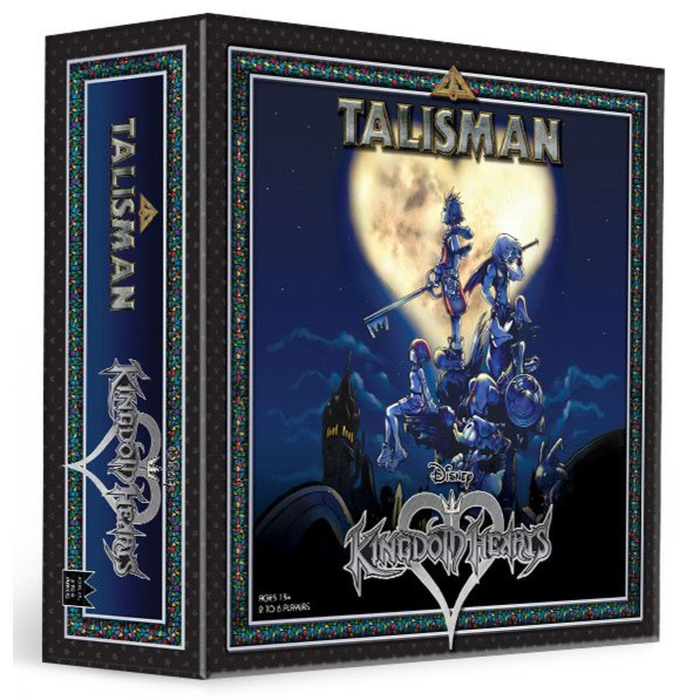 Kingdom Heats bordspel Talisman Disney videogame