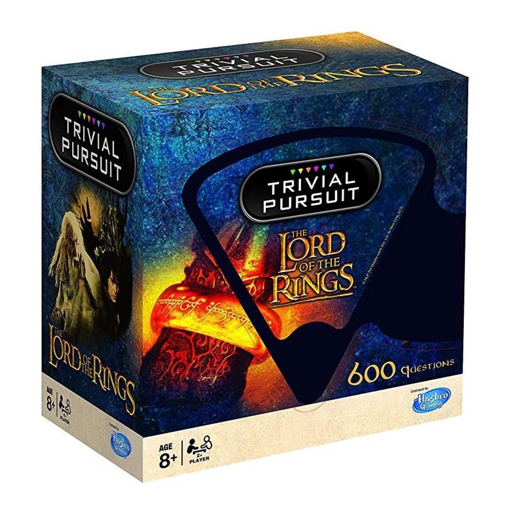 Lord of the rings kaartspel Trivial Pursuit Engels movies