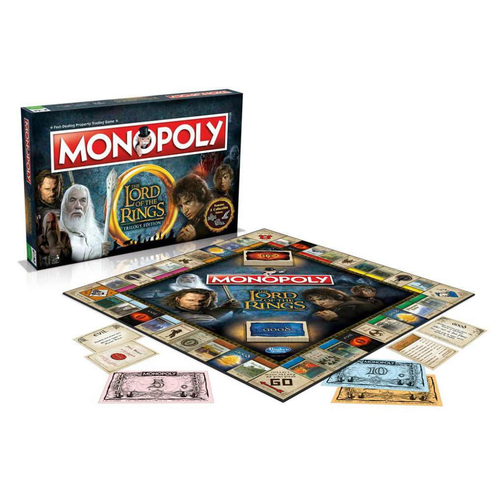 Monopoly Lord of the Rings bordspel