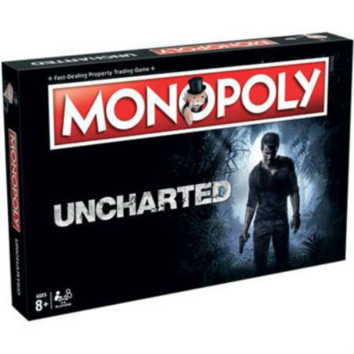 Monopoly Uncharted bordspel Winning Moves