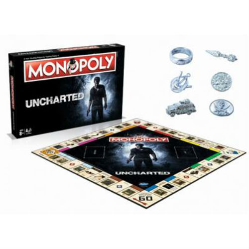 Monopoly Uncharted Winning Moves bordspel