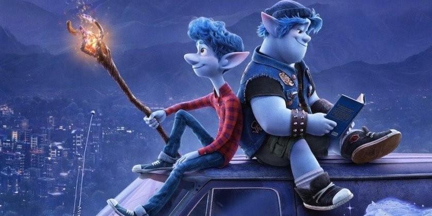 Onward review poster Disney Pixar