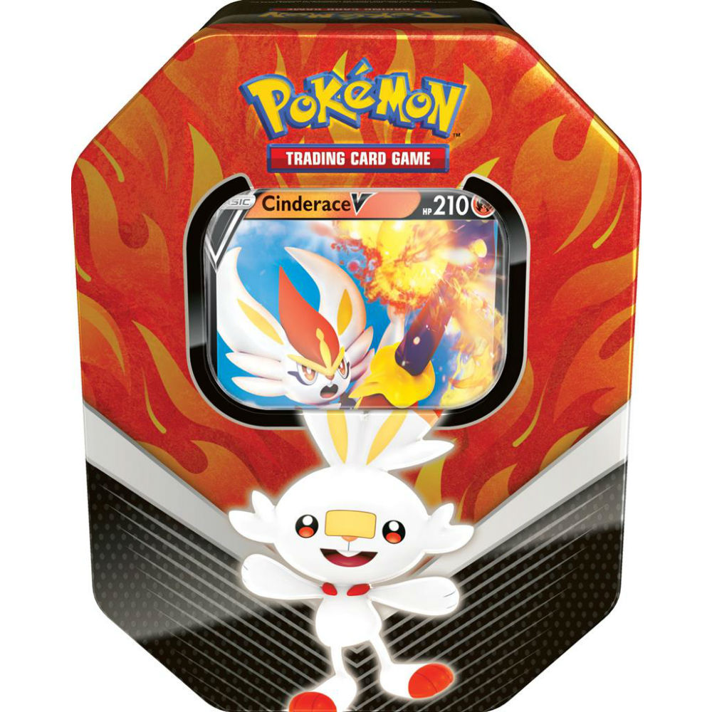 Pokémon Galar partners tin Sword Shield Cinderace