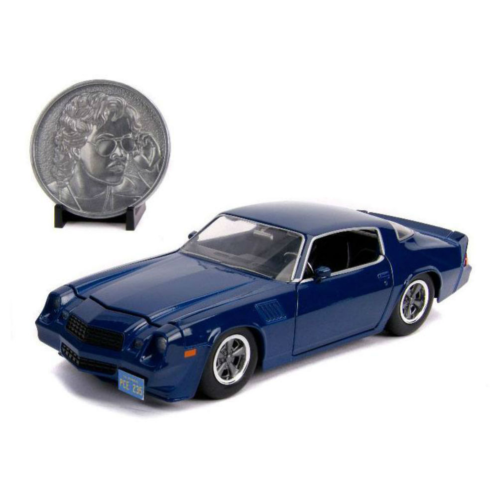 Stranger Things Diecast Model Netflix 1/24 Billys 1979 Chevy Camaro Z28