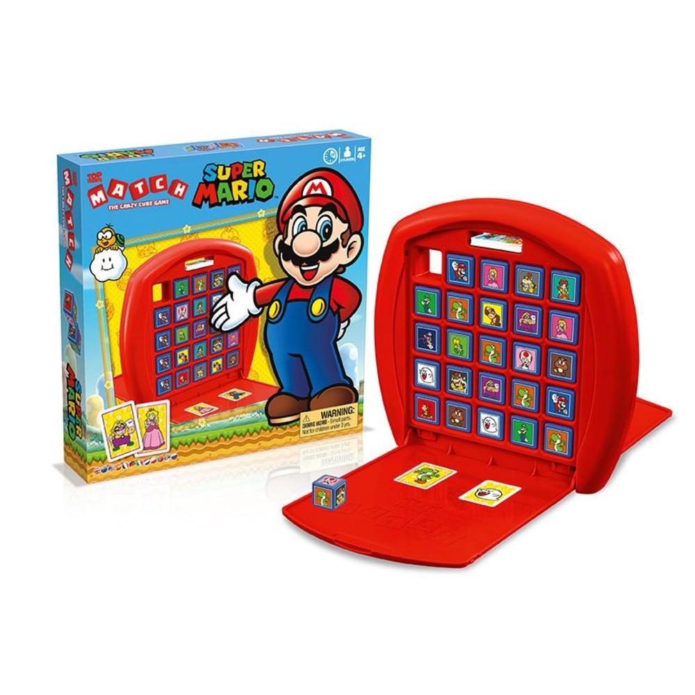 Super Mario bordspel Top Trumps match
