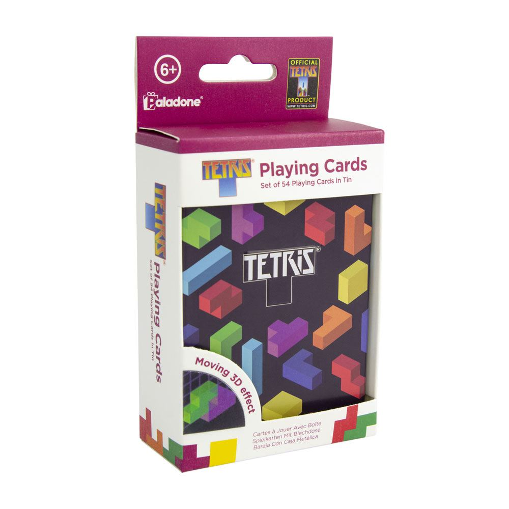 Tetris speelkaarten Icons games